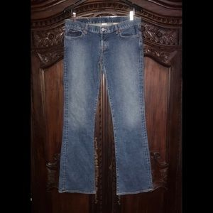 Like new Lucky Brand women's Dungarees. Sz 12/34L.